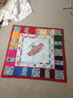 Monopoly Board Cotton Play Mat