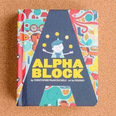 Alphablock illustrated by Peskimo