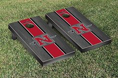 Nicholls State Colonels Cornhole Game Set Onyx Stained Stripe Version *** Be sure to check out this awesome product.