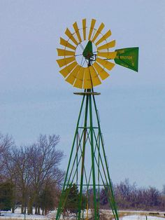 John Deere windmill | Flickr - Photo Sharing!