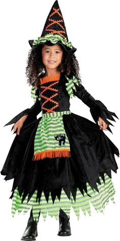 toddler girls story book witch costume party city - Baby Witch Costumes Halloween