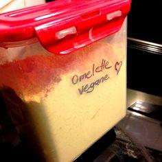 omelette vegane en poudre Omelettes, Quiches, Plant Based Diet, Food Allergies, Vegan Gluten Free, Vegan Recipes, Tasty, Cooking, Breakfast