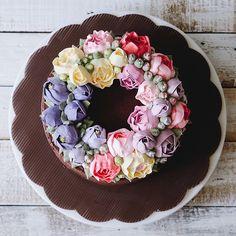 Flower cake @ivenoven
