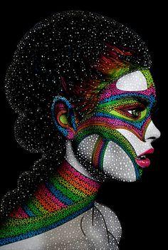 Black Wall Art, Black Love Art, Black Artwork, African American Art, African Art, Urban Pictures, Art Beat, Bad Art, Afro Art