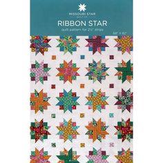 Ribbon Star Pattern by MSQC
