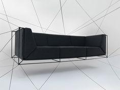Floating Sofa by Philippe Nigro