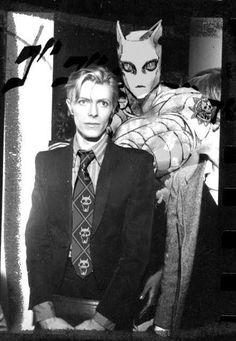 David Bowie as Kira from Jojo Jojo's Bizarre Adventure, Jojo's Adventure, David Bowie, Yoshikage Kira, Rock Poster, Jojo Anime, Jojo Parts, Film D'animation, Jojo Memes