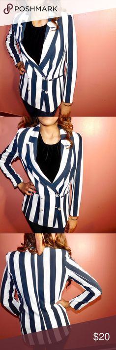 Stripe Blazer H&M Stripe Blazer H&M H&M Jackets & Coats Blazers