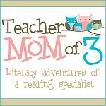 A teacher of 23 years and loves it!!  She's an elementary reading specialist at a private Christian school.  Her blog is a way for her to share her literacy adventures in the primary grades with parents and teachers.