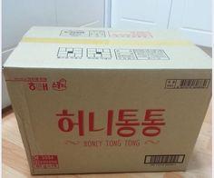 Haitai Honey Butter Honey Tong Tong 65G One Box-16V Bags_Tracking Shipping