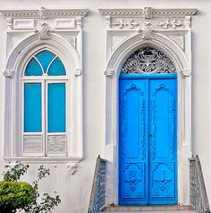 Blue Door by Ricardo Bevilaqua, via Flickr  Brazil