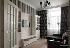 Фото интерьера гостиной небольшой квартиры в стиле фьюжн