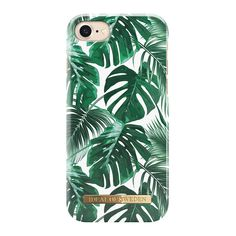 iDeal Of Sweden Monstera Jungle Design w/ Magnetically Compatible Fashion Mobile Phone Case for iPhone 8/7/6/6s