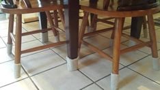 Kitchen Chairs, Kitchen Decor, Dining Chairs, Chair Socks, Kitchen Essentials, Kitchenware, Bar Stools, Cozy, Flooring