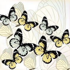 Fondo con mariposas de vector — Ilustración de stock Retro, Butterfly, Illustration, Designer Cakes, Gold Studs, Butterflies, Illustrations, Retro Illustration