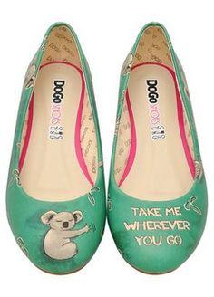 Dogo Store - Flats  Koala Hug