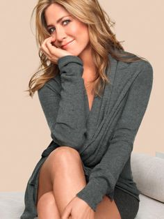 Jennifer Aniston is a soft summer. She looks perfect in soft muted colors. @outfitideas4u