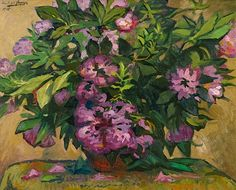 Paul-Elie Gernez French 1888-1948  Bouquet of Flowers 1915