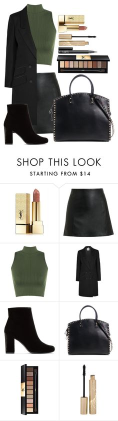 """Untitled #1630"" by fabianarveloc on Polyvore featuring Yves Saint Laurent, T By Alexander Wang, WearAll, Tod's, Valentino, Stila and NARS Cosmetics"