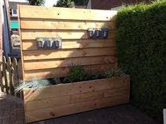 Afbeeldingsresultaat voor houten tuinidee