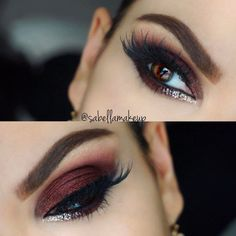 Picking a smokey eye for brown eyes idea is a difficult enough business. But you should always keep in mind that your eye-shape also matters! #makeup #makeuplover #makeupjunkie #eyes