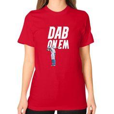 DAP On Em Unisex T-Shirt (on woman)