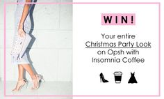 WIN your Christmas Party Look with Opsh Insomnia! Party Looks, Insomnia, Articles, Blog, Christmas, Xmas, Blogging, Navidad, Noel
