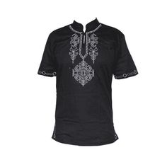 Men's African attire, shirts African Attire For Men, African Clothing For Men, African Men, African Style, Dashiki For Men, Funky Outfits, Shirt Embroidery, Cheap T Shirts, Gentleman Style