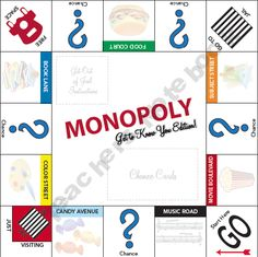 Monopoly: Get-to-Know-You Edition!