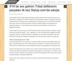 Lug Von Siga 2014 İlkbahar/Yaz Koleksiyonu parçaları yurtdışındaki önemli satış noktalarından sonra Türkiye'de ilk kez stylup.com'da.