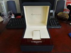 Genuine Longines Box and Case w/ Sealed Warranty Book! #Longines