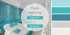 Znalezione obrazy dla zapytania turkusowy kolor w sypialni