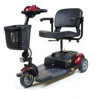 Golden Technologies - Buzzaround XLHD - Travel Scooter - 4-wheel - Red - Walmart.com - Walmart.com 3 Wheel Scooter, Cheap Used Cars, 3rd Wheel, Led Headlights, Technology, Sports, Red, Walmart, Wheels