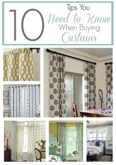 10 Tips On How To Choose Curtains To Get The Look You Want And Choices At
