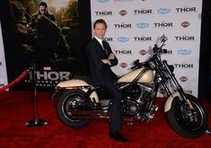 That time he sat on a motorcycle.   21 Times Tom Hiddleston Almost Killed Us