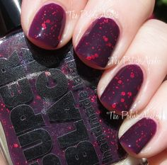 The PolishAholic: Super Black Spring 2014 Collection Swatches - The Haymaker