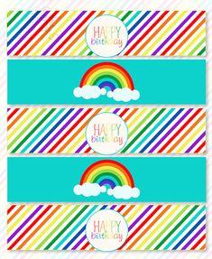 Rainbow Parties, Rainbow Birthday Party, Rainbow Theme, Unicorn Birthday Parties, Unicorn Party, Rainbow Food, My Little Pony Cumpleaños, My Little Pony Poster, My Little Pony Birthday