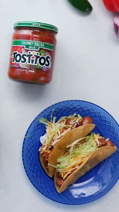 We've got the crunchy taco hack of the year for you! These chili cheese taco dogs, made easy with TOSTITOS Chunky Mild Salsa, are the perfect dinner solution for any day of the week.