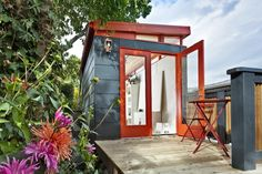 Modern-Shed is the original in a growing trend of prefabricated outdoor structures. Our sheds provide a unique space all your own; whether you need a home office, a guest home, a photography studio, or a entertainment studio, Modern-Shed has you covered.  Each shed is beautifully designed and handcrafted for you. We take pleasure in simplifying your life. Modern-Sheds are perfect for homeowners who wish to elevate their property value at a fraction of the cost of remodeling. What will your…