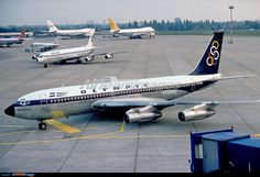 Olympic Airlines, National Airlines, Boeing 720, Boeing Aircraft, Illinois, Douglas Dc 8, Commercial Aircraft, Civil Aviation, Aircraft Pictures