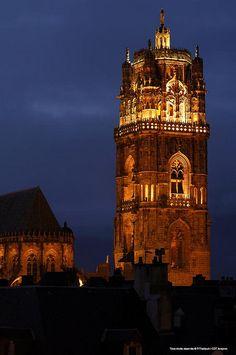 Une des plus jolie cathédrales du monde : La Cathédrale de Rodez, Aveyron