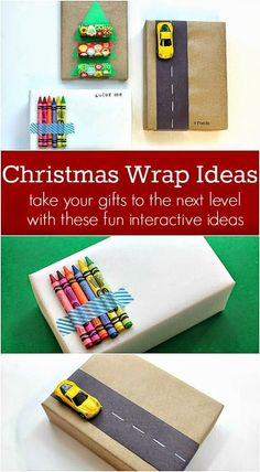 Clever Christmas Gift Wrap Ideas For Kids