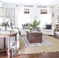Beautiful farmhouse style living room.