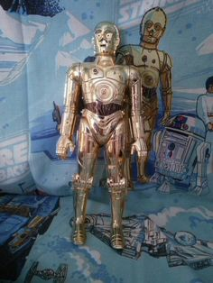 Star Wars C3PO Vintage large size by AlwaysPlanBVintage on Etsy