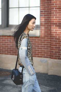 Leopard print and zippers, yes please!