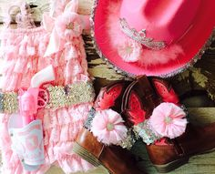 Baby Girl/ Toddler/ Little Girl Cowgirl Set. by LovCouture on Etsy, $70.00