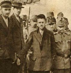 Gavrilo Princip, the man who assassinated Archduke Franz Ferdinand of Austria. The murder set off a chain of events that led to World War I.