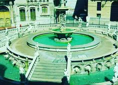 """This fountain in Palermo is called """"Fountain of Shame"""" because of its nude statues."""