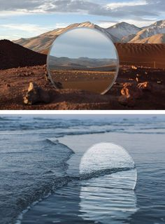 Landscapes in Mirrors by Cody William Smith Mirror Photography, Scenery Photography, Texture Photography, Photoshop Photography, Creative Photography, Fine Art Photography, Cool Pictures, Cool Photos, Beautiful Pictures