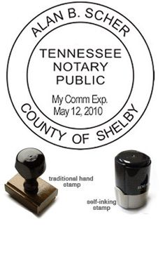 State of Massachusetts CUSTOM Round Self-Inking NOTARY SEAL RUBBER STAMP